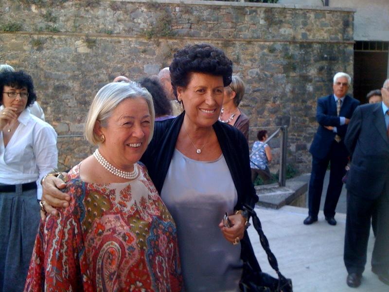 Carla Fendi e Donatella Cinelli Colombini - Premio Casato Prime Donne
