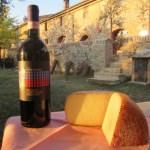 Brunello Prime Donne e formaggio