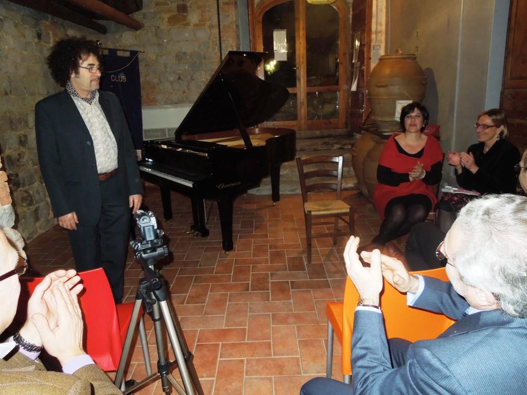 NatalioMangalavite-GabriellaVittoriaRomano- Fattoria del Colle- Lions Club Montalcino la Fortezza