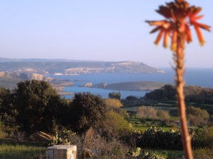 Malta - Gozo - Qala - panorama from our terrace