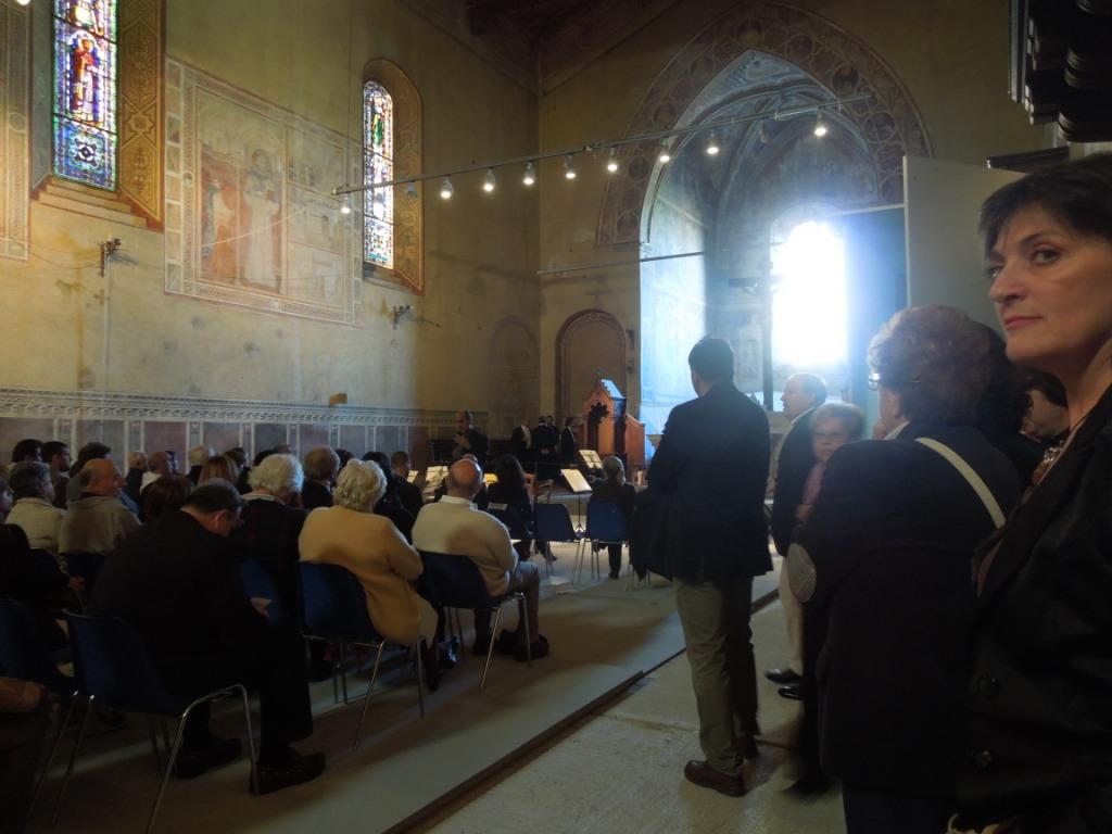 Montalcino - Sant'Agostino -Concerto di Bach offerto dalla Fondazione Bertarelli