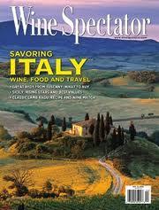 Wine spectator cover