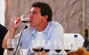 Antonio Banderas e il vino