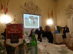 Pierluigi Rossi parla di sana nutrizione al Lions Club Firenze Brunelleschi