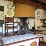 the ancient kitchen of Fattoria del Colle