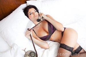 telefonista sexy