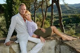 Sting, nella sua tenuta Il Palagio in Toscana