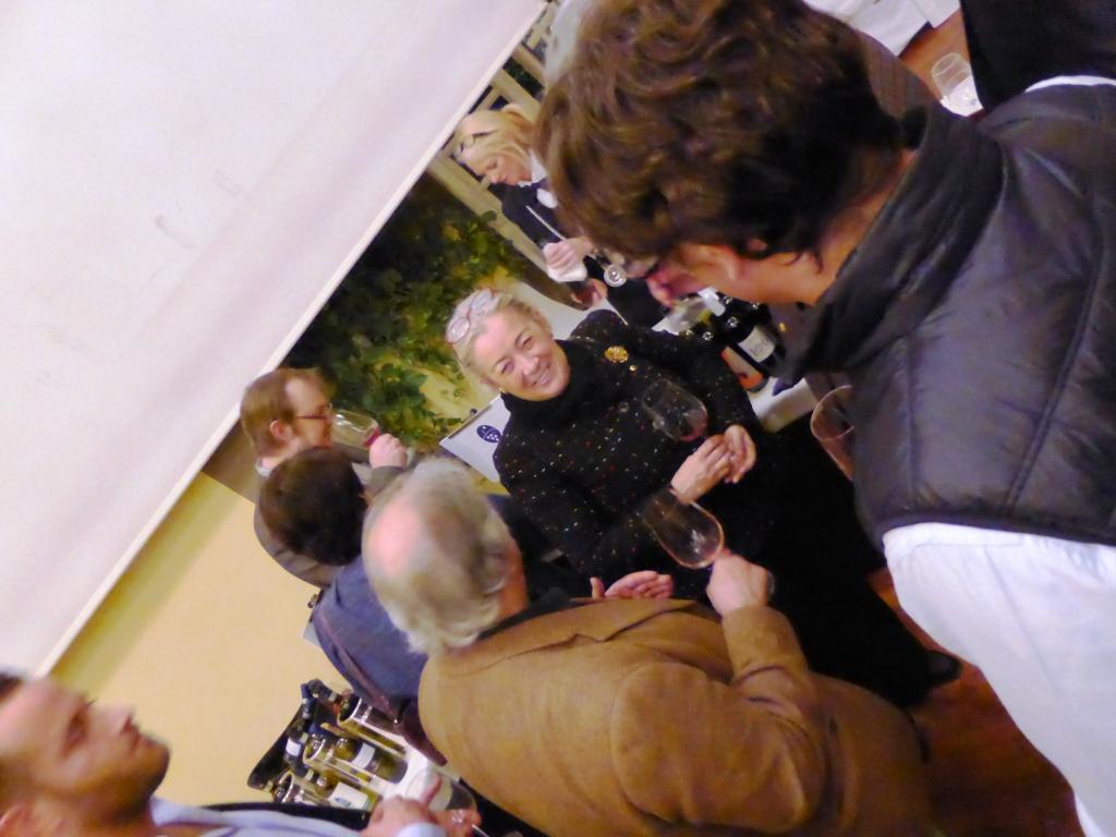 Donatella Cinelli Colombini orgogliosa presidente dell'Orcia DOC