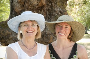Jancis Robinson and Whitney Schubert,