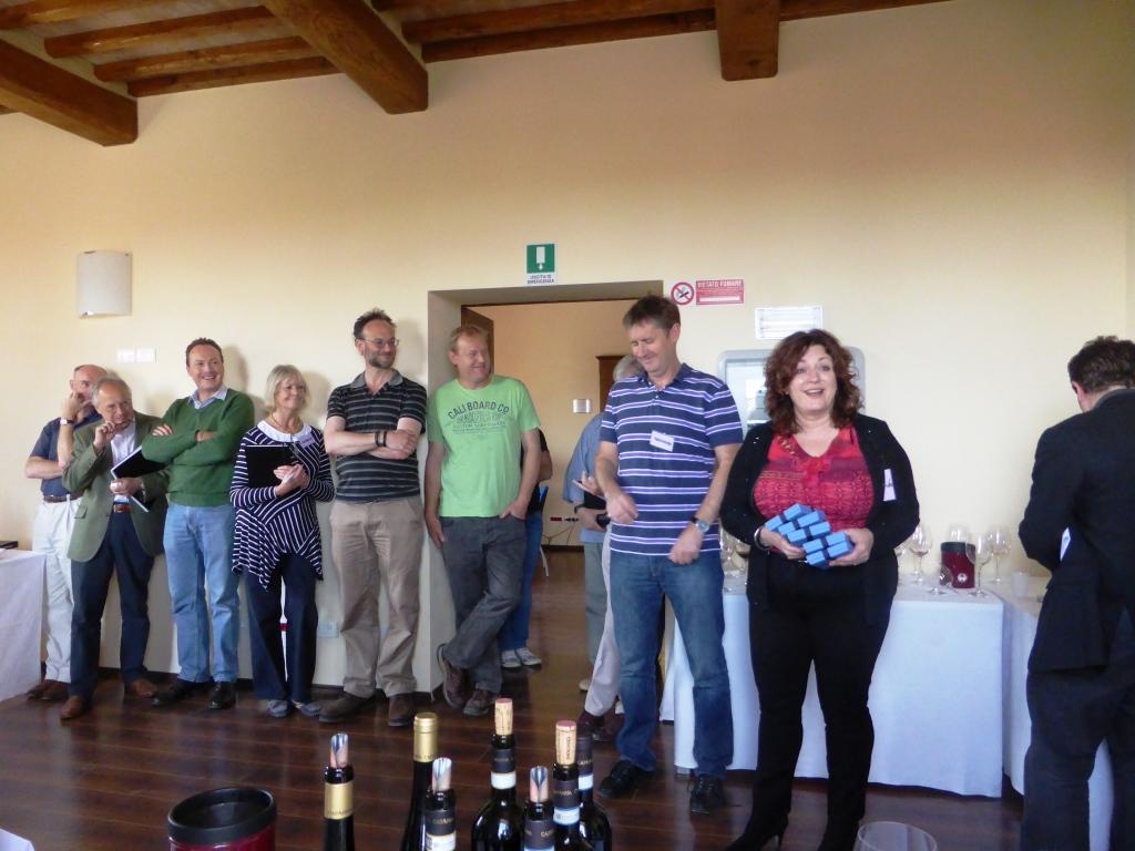 Master of Wine consegna dei regali ai produttori di Brunello 4