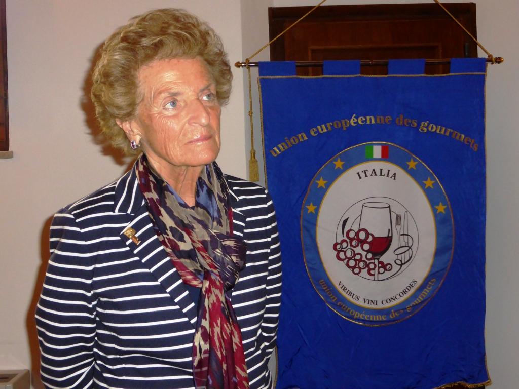 Pia Donata Berlucchi all'Unione Européenne des Gourmets