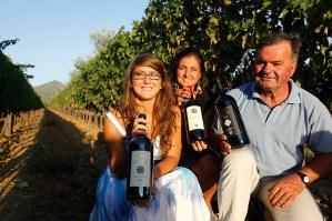 Giovanni Chiappini e le sue figlie