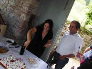 Gioia e Raffaele, sul tavolo la ciaramiglia