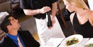 il vino in tavola