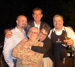 Ignazio, Marcello Lunelli, Donatella, Violante e Gianluca