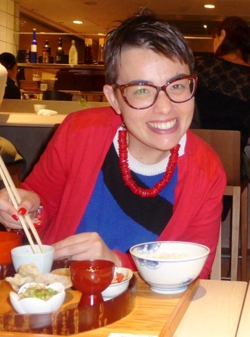 Tokyo Violante al ristorante giapponese