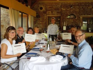 cookery course at Fattoria del Colle