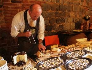 Andrea Magi DeMagi formaggi alla Fattoria del Colle