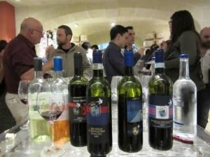 Vini e Capricci Gozo buffet dopo  la degustazione