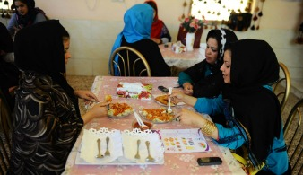 Herat Afghanistan ristorante per sole donne