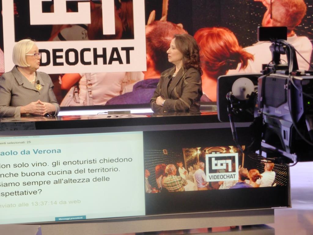 Donatella Cinelli Colombini Anna Safuri VideoChat