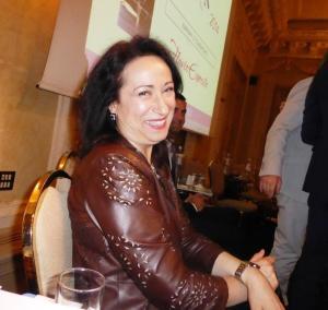 Anna Scafuri premio Italia a tavola
