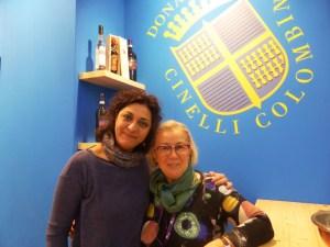 Isabella Monguzzi e Donatella Cinelli Colombini