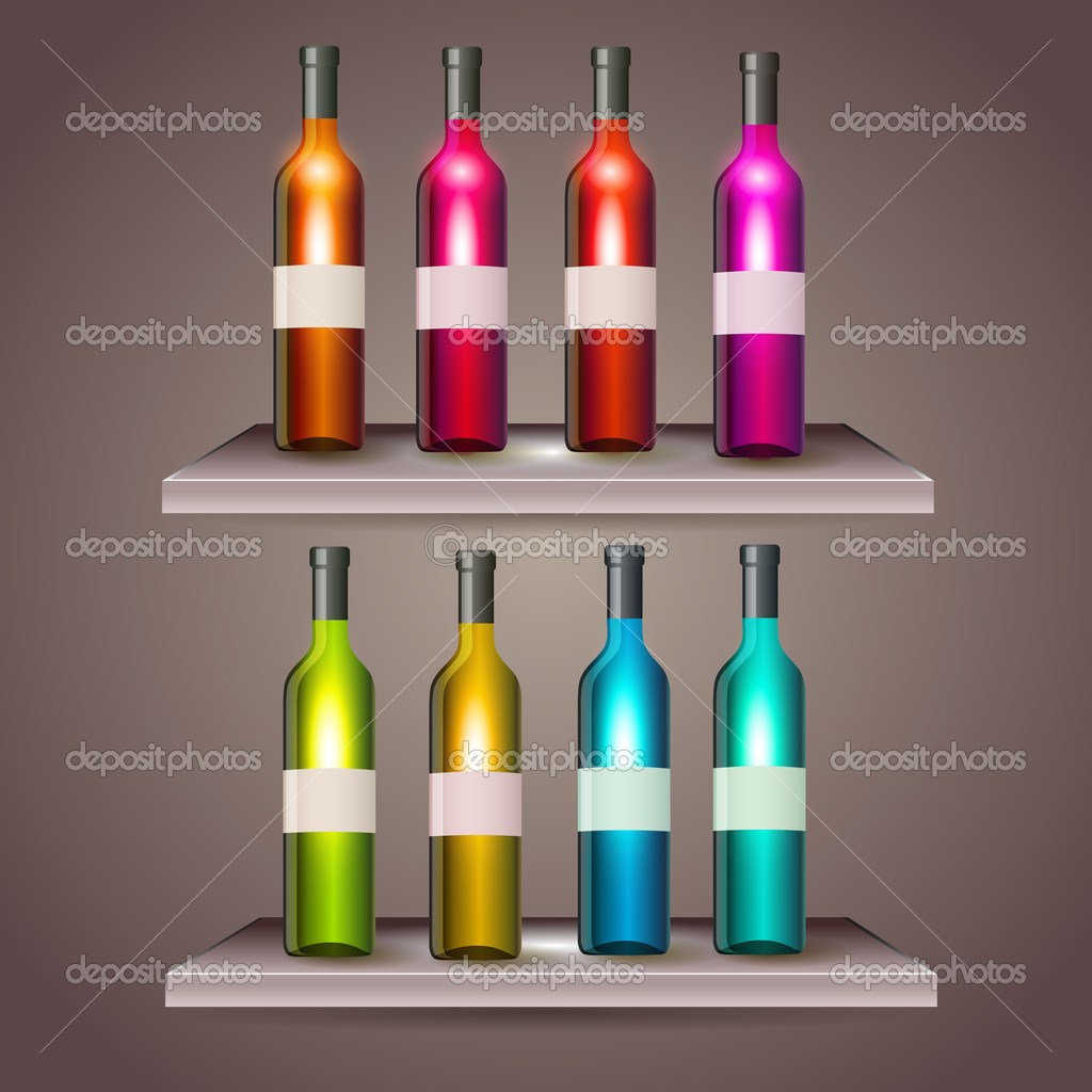 packaging del vino colori