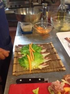 sushi toscano fase preparazione