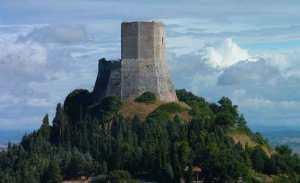 Rocca di tentennano Rocca d'Orcia