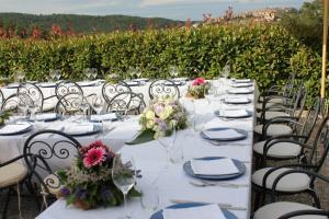 Matrimonio in fattoria del Colle, pranzo