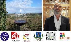 Walter Speller guida la degustazione dei vini Orcia