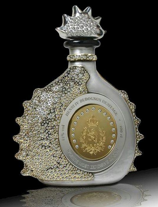 Il Cognac più costoso del mondo. Enrico IV Dudognon Heritage Cognac Grande Champagne 2 milioni