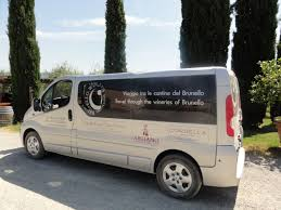 Wine tour bus