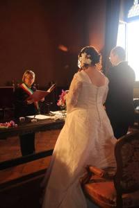 Donatella Cinelli Colombini celebra un matrimonio