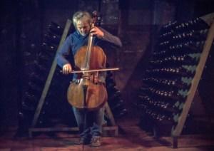 Mario Brunello concerto nella cantina Bellavista
