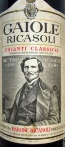 barone_Ricasoli . Le Origini del vino e la formula del Chianti di Brolio