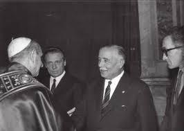 Papa Paolo VI e Luigi Socini Guelfi
