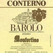 Vini italiani più cari Monfortino Giacomo Conterno