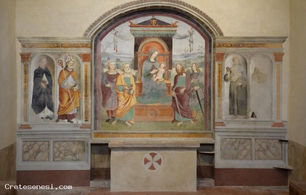 Raffaello?-Asciano-Sant'Ippolito-Trekking-urbano-2016-ponte-di-Ognissanti
