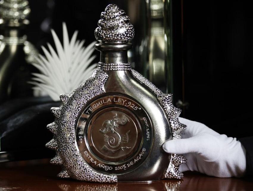 bottiglie-più-care-del-mondo-Tequila Ley 925