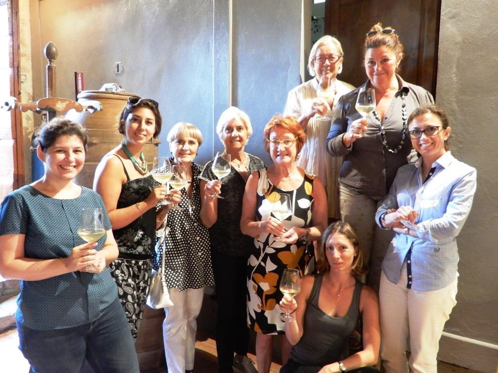 Maria Giulia Frova Delegata Donne del Vino della Toscana