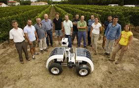 VineScout progetto per il trattore-senza-conducente