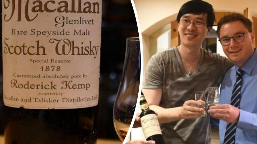 Whisky Macallan del 1878