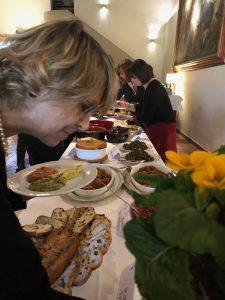 Marzia Morganti Temestini piatti della memoria Prato Villa Rospigliosi