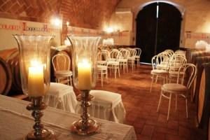 Matrimonio in cantina Toscana Fattoria del Colle