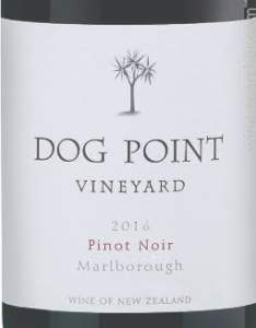 2014 Dog Point Pinot Noir, Marlborough, New Zealand