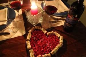 San Valentino-Fattoria-del-Colle-Toscana- con cena a lume di candela