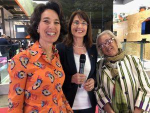Vinitaly intervista RAI2 Donne del Vino