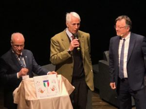 Benvenuto Brunello la piastrella di Giovanni Malagò